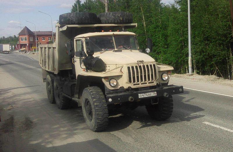 Урал-55571 самосвал