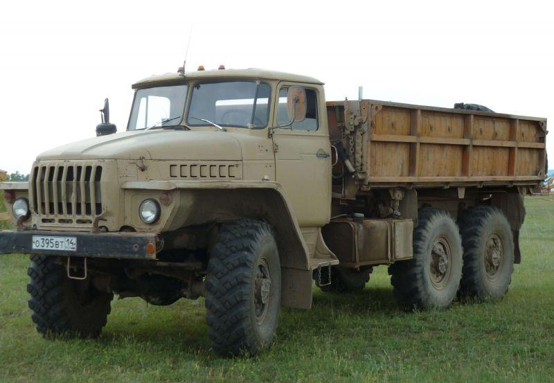 Урал-55571 бортовой