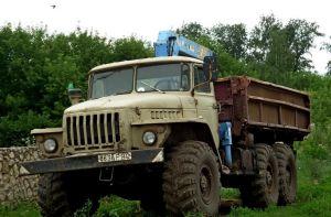 Бортовой Ural-5557