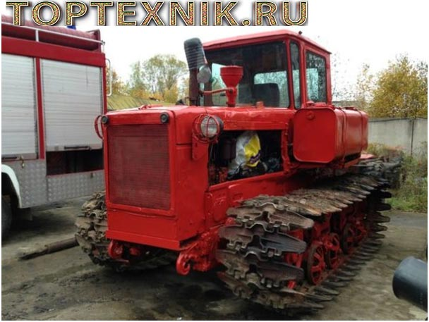 Болотоход ДТ-75Б