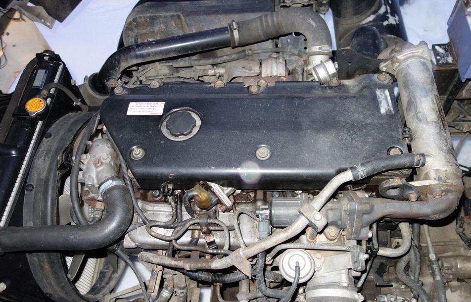 Двигатель Isuzu NQR-75