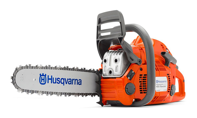 Husqvarna 455E Rancher AT II 9667679-15 – самая мощная в серии