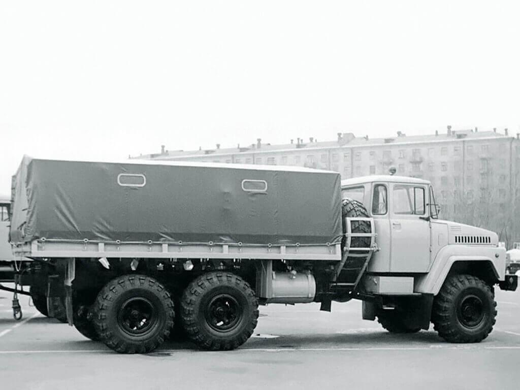 Грузопассажирский Kraz-260