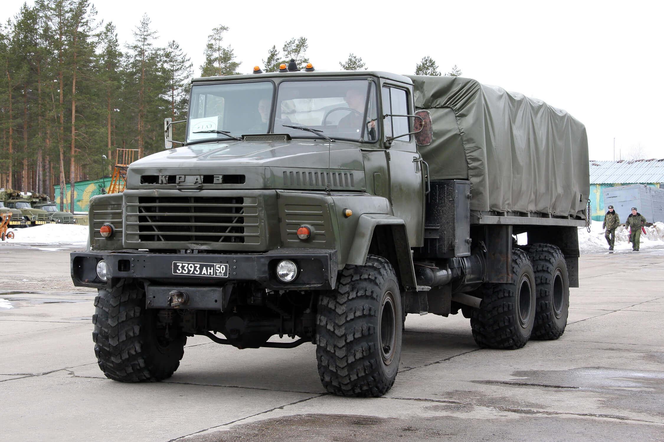 Фото грузовика КрАЗ-260