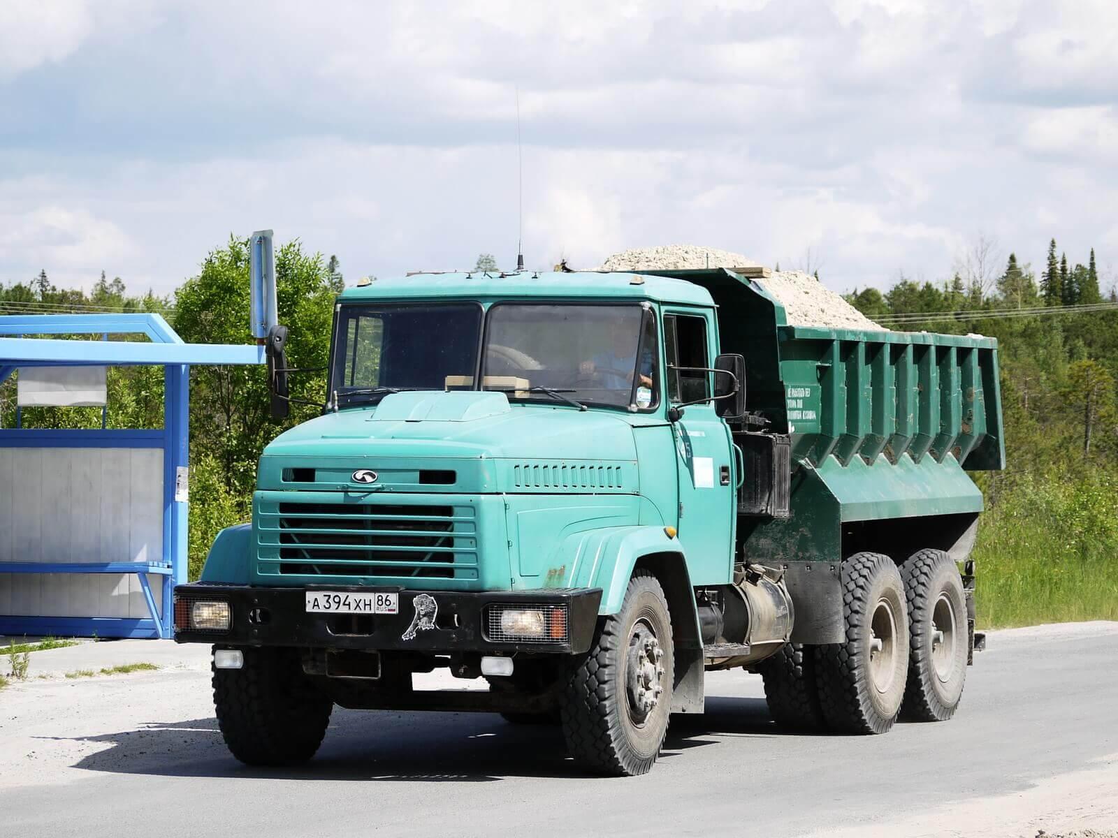 Грузовой самосвал КрАЗ-6510