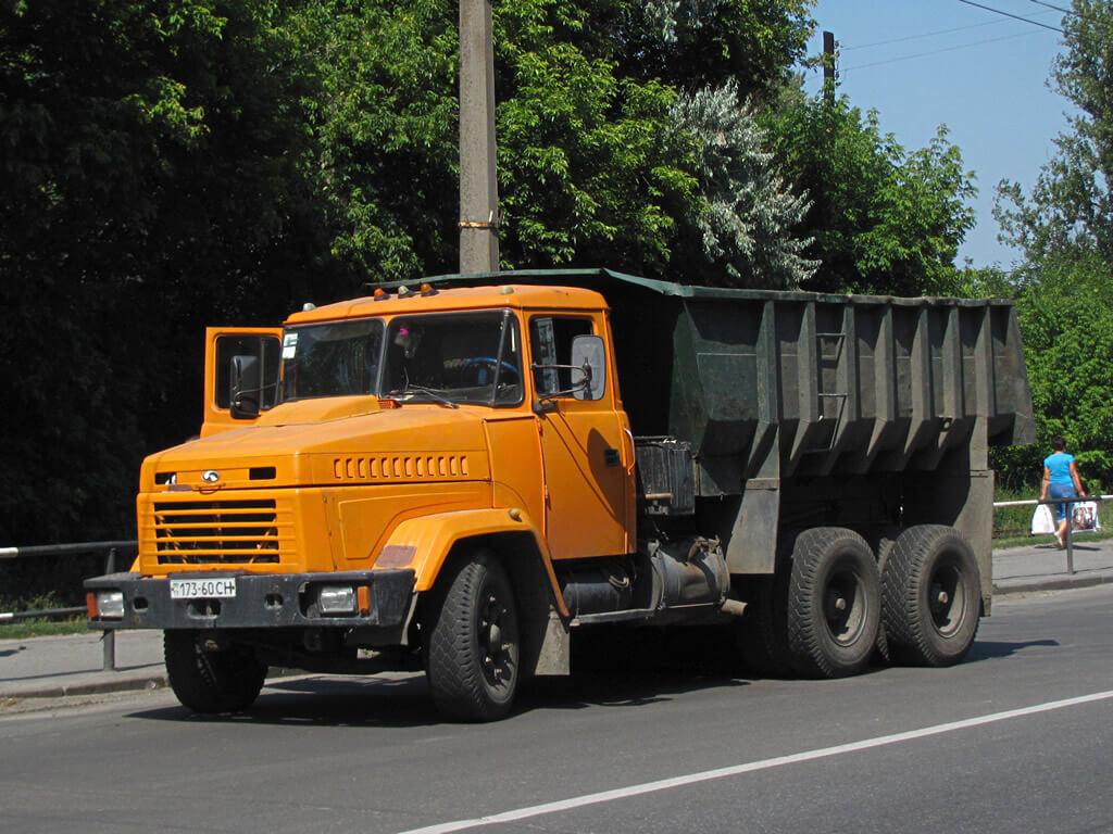 Автомобиль Kraz-6510