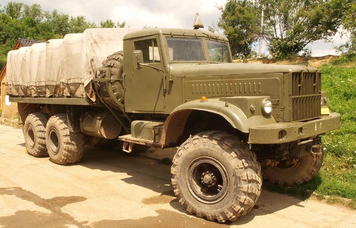 Мощность двигателя и варианты комплектации КРАЗ 255