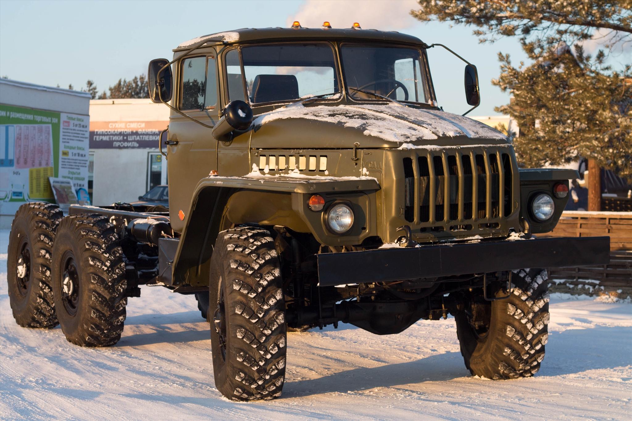 Шасси Урал-4320