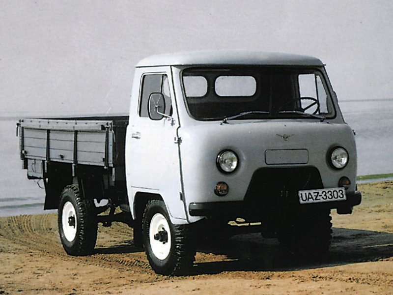 описание модификации грузового автомобиля УАЗ-330364