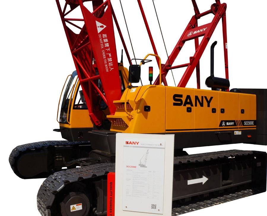 гусеничный автокран SANY SCC500E