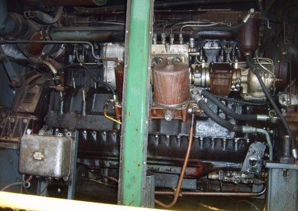 двигатель марки  У1Д6-ТК-С5