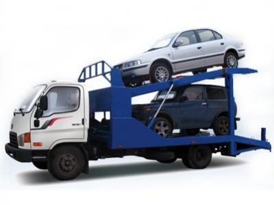 Эвакуатор Hyundai двухуровневый