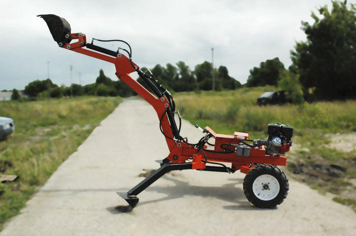 Mini Digger 2500