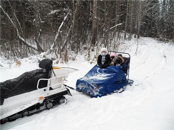 Фотогалерея нарты для снегохода фото - 2