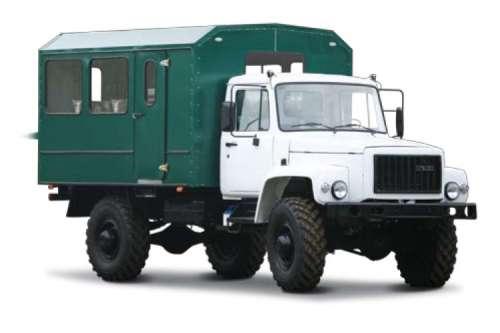 вахтовый автобус на базовом шасси ГАЗ-33081