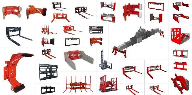 Варианты навесного оборудования для вилочных погрузчиков