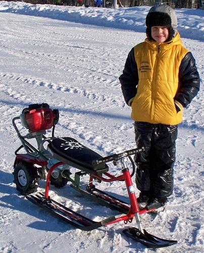 Снегоход для детей