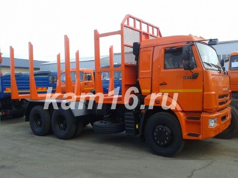 Сортиментовоз КАМАЗ 65111