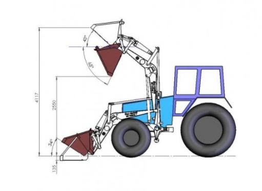 Особенности конструкции ковша для трактора