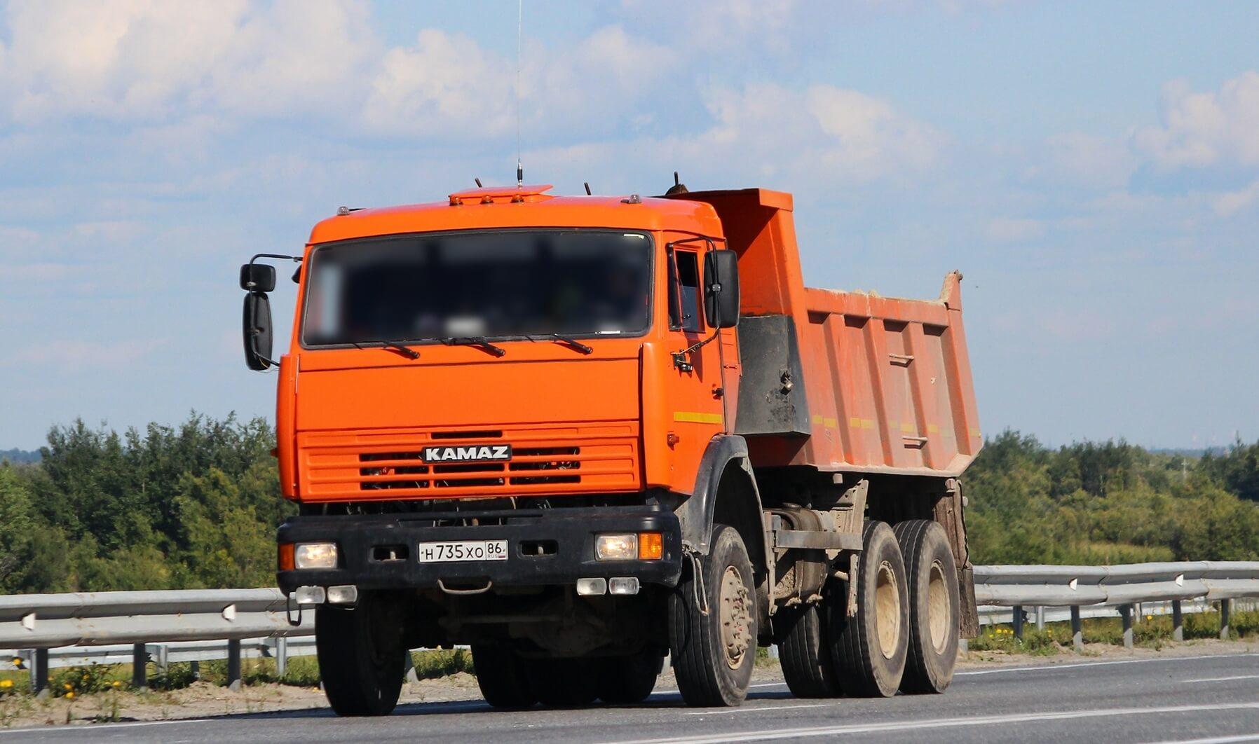 Самосвал Камаз 65111