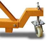 Опция консоли: колесо для удобства передвижения