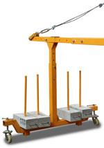 Консоль для строительной люльки LittleSwan ZLP 630