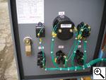 Электрощит управления строительным подъемником LittleSwan ZLP 500, ZLP 630