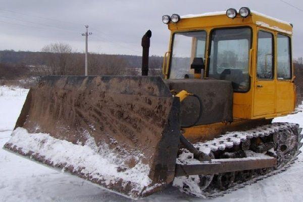 Гусенечный трактор Т-4