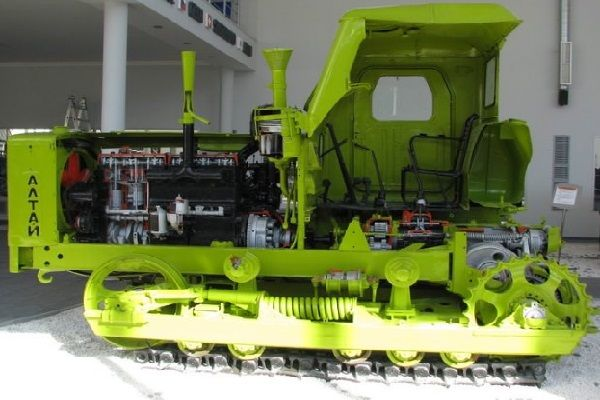 Технические характеристики трактора Т-4