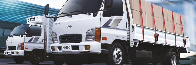 Грузовик Hyundai HD35City