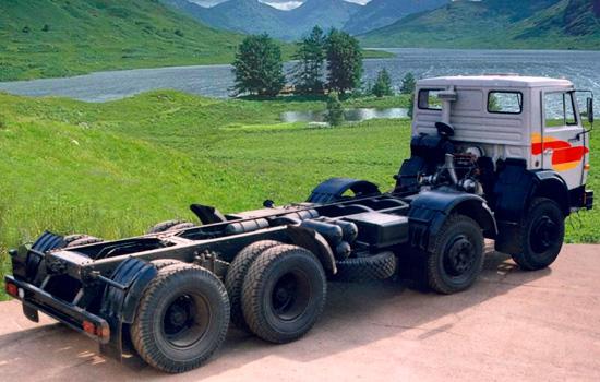 КамАЗ-6540 шасси дореформенное