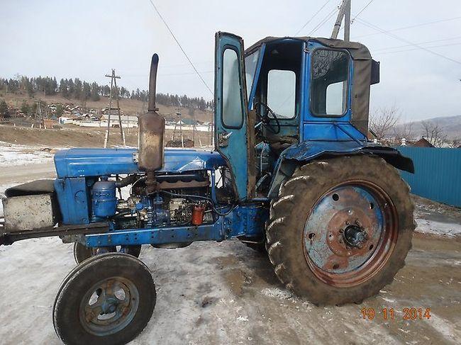 Синий трактор т 28