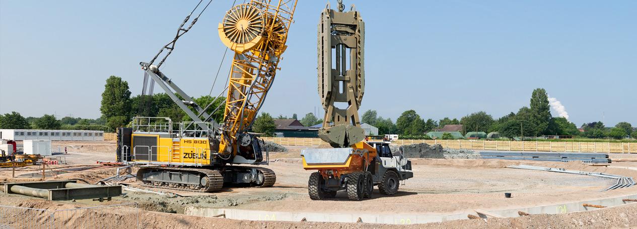 Фундаментно-строительное оборудование Liebherr