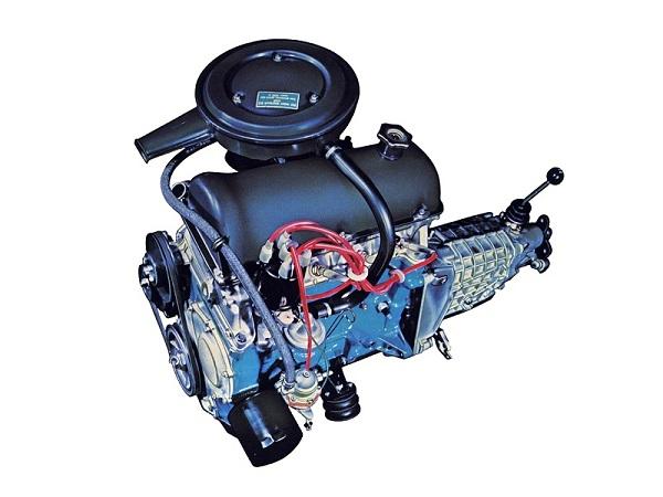 Двигатель из «Жигулей»