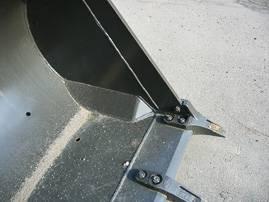 Защита ковша от налипания грунта
