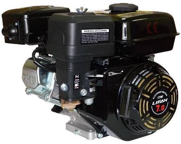 Двигатель 170F для мотоблока Рысь