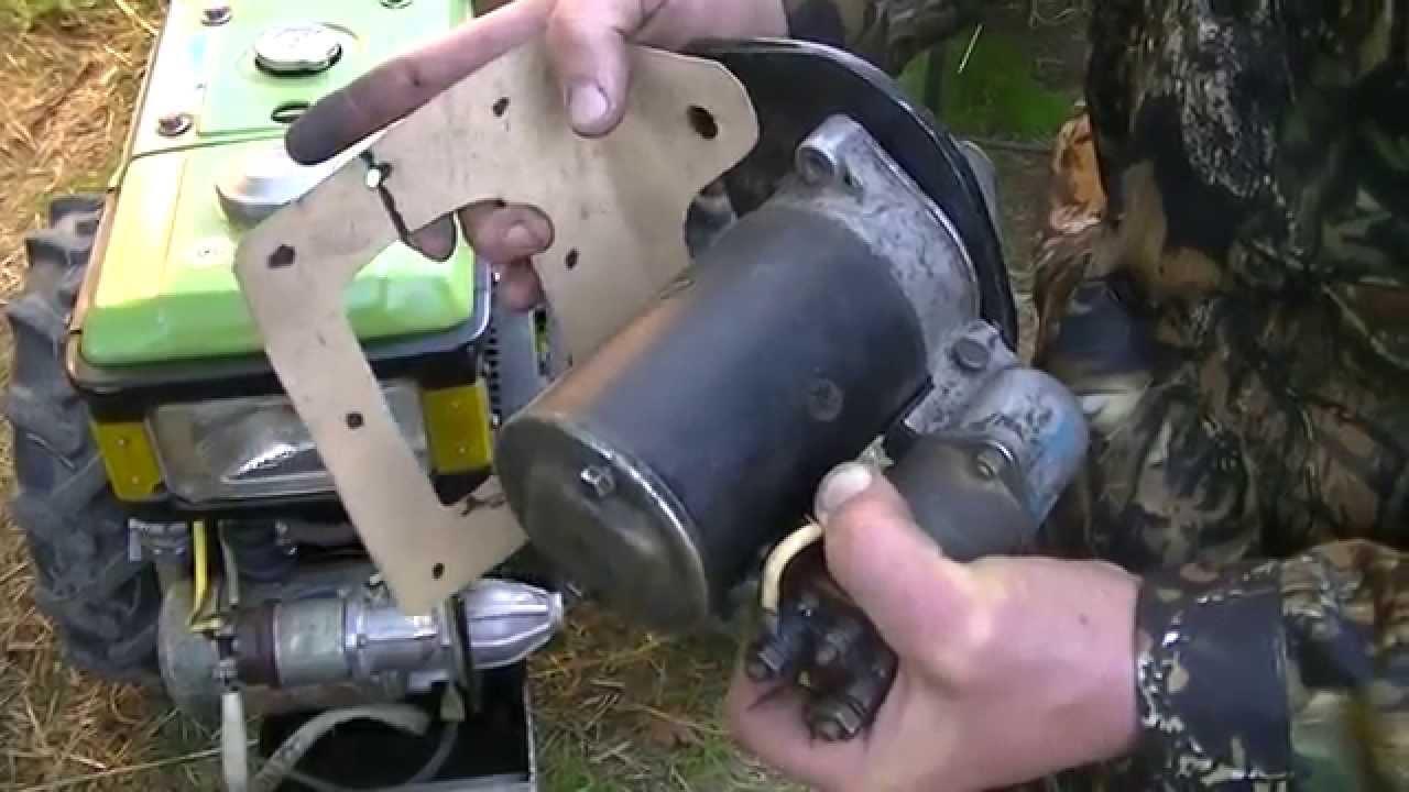 Электростартер мотоблока