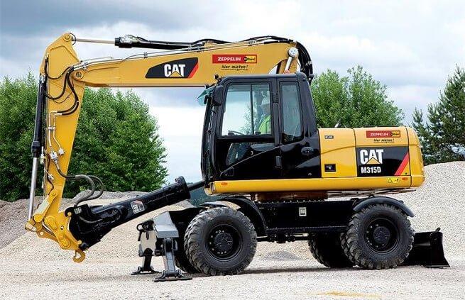Колесный экскаватор Cat M315D2