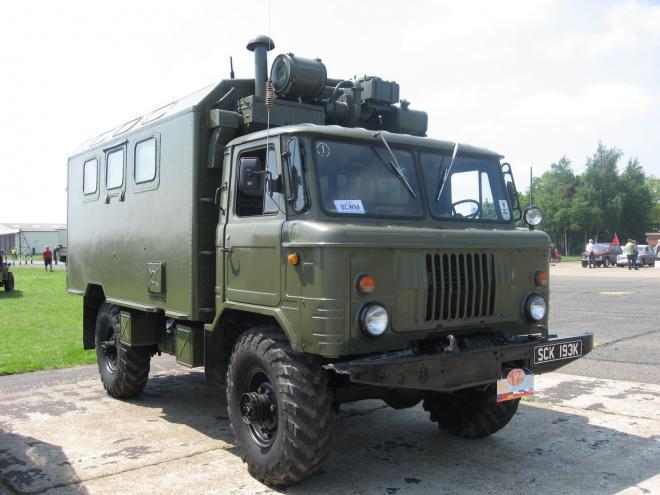 Фургон кунг