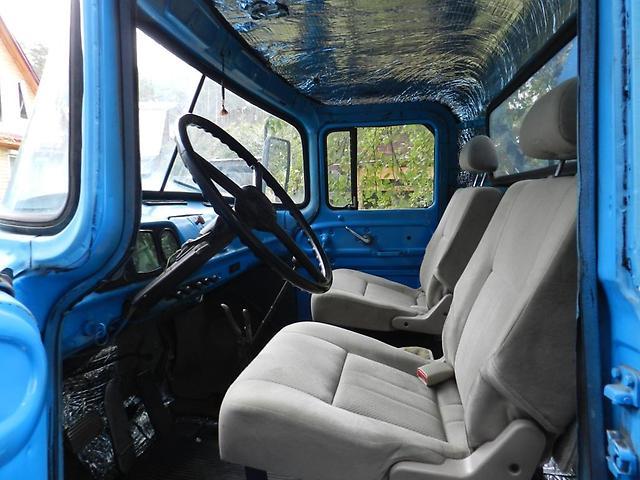 Фото замены кресел в кабине ЗИЛ 130, rus-img.com