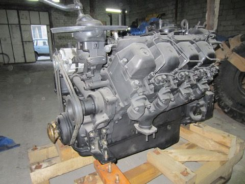 Двигатель КамАЗа 55102