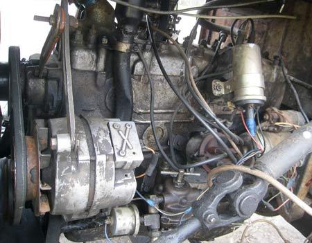 родной мотор на газ 51